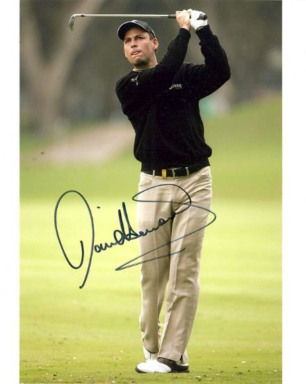 David Howell, English golfer, signed 10x8 inch photo.